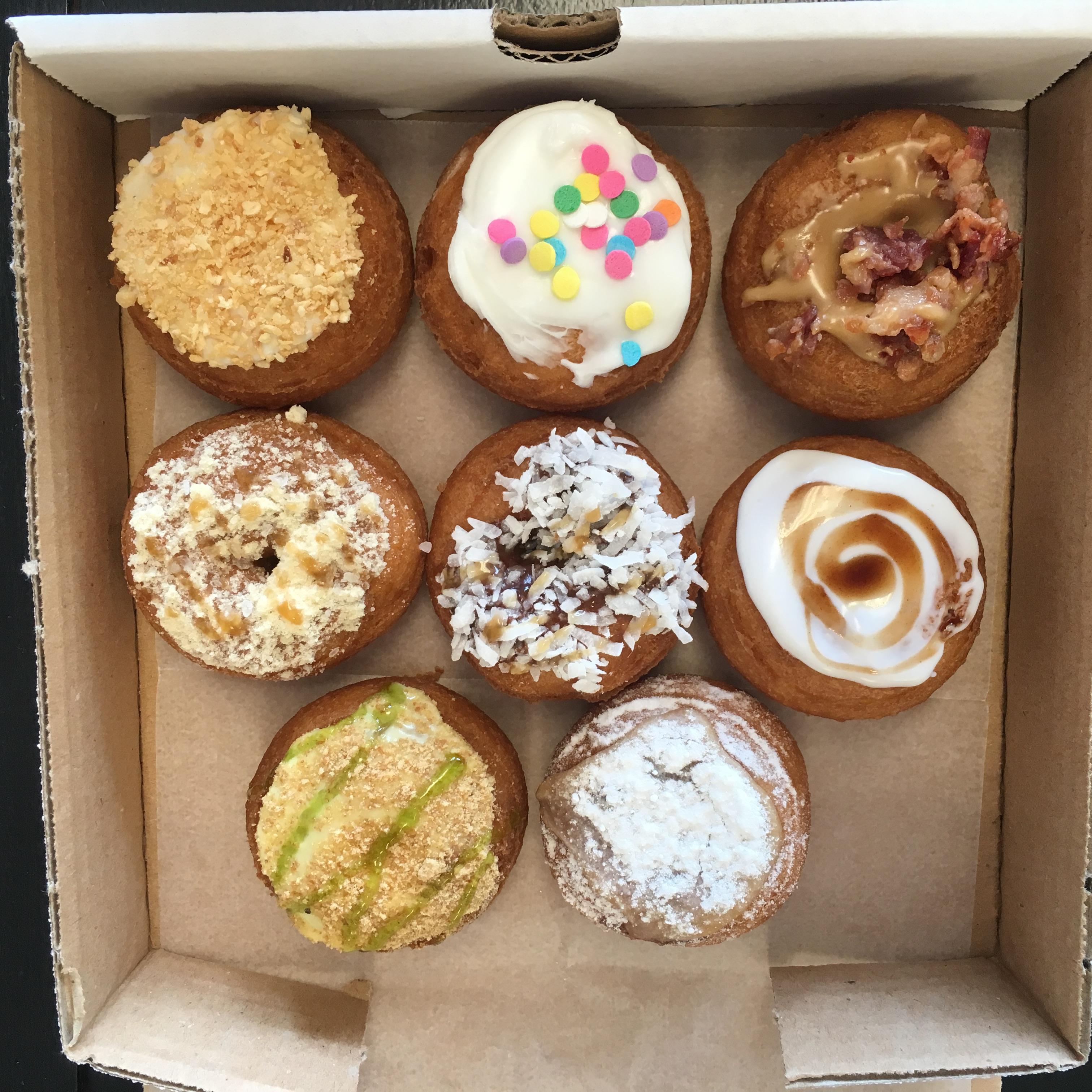 davinci donuts atlanta ga bbq donut roadtrip 40 000